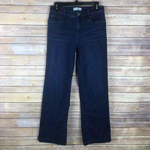 J Jill 4 Smooth Fit Full Leg Dark Wash Jeans B62